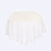 White Oval Cloths