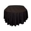 Black Oval Cloths