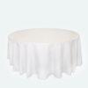 White Round Cloths