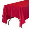 Red Table Cloths