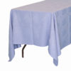 Sky Blue Table Cloths